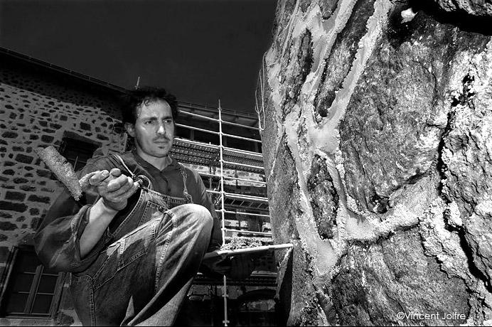 Alexandre Sivet Maçon du bâti ancien