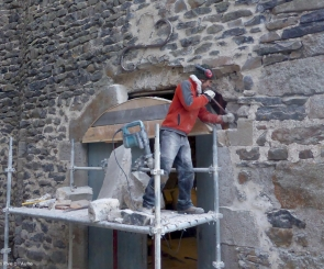 Remplacement de pierres - Arc surbaissé